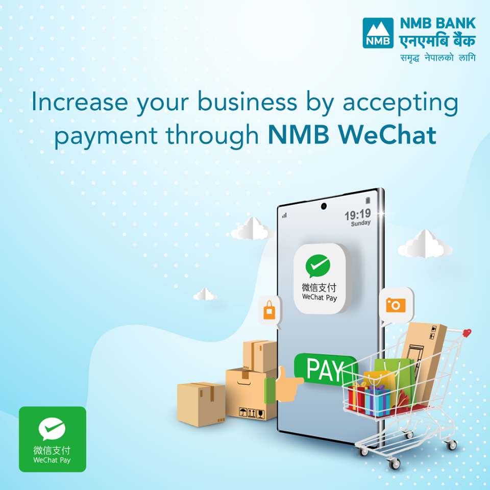 Wechat pay in Nepal with NMB Bank