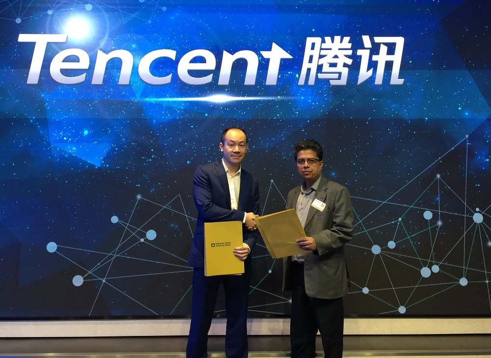 NMB Tencent Wechat pay Nepal
