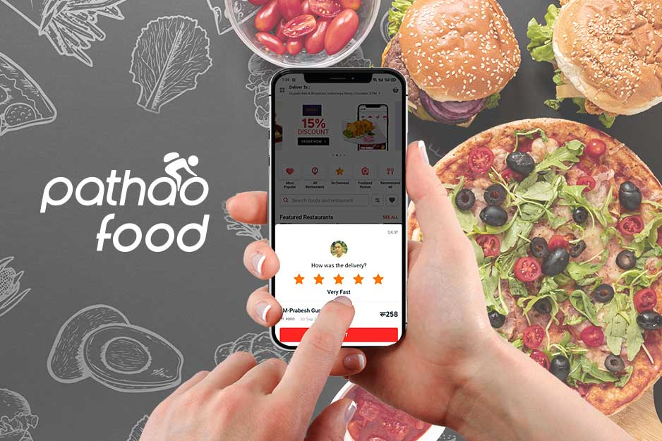 Pathao Food delivery apps in Nepal