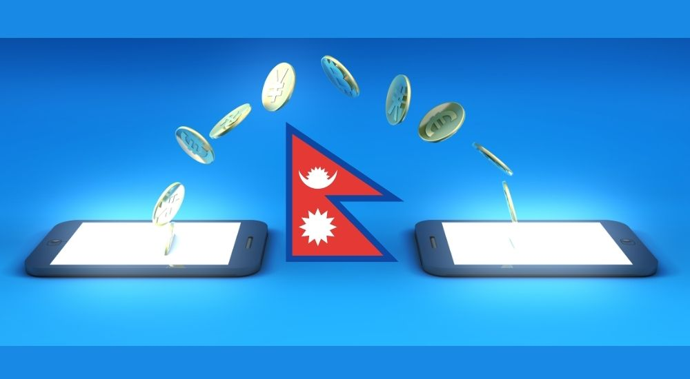 Online transactions in Nepal