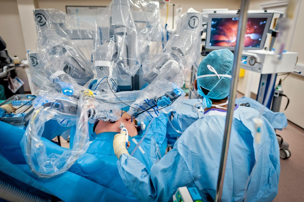 nepal's first-ever robotic surgery